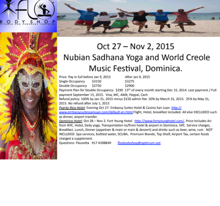 Nubian Sadhana Yoga Retreat 2015